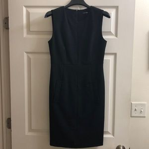 Magaschoni Black Fitted Dress